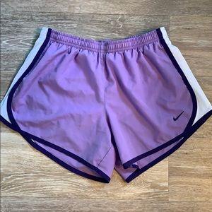 Nike Size Large lavender shorts!